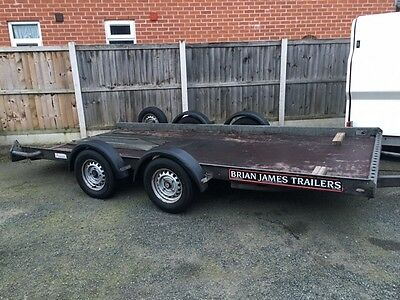 """BRIAN JAMES A SERIES TWIN AXEL TRAILER 6ft 1"""" BY 13ft 5"""""""