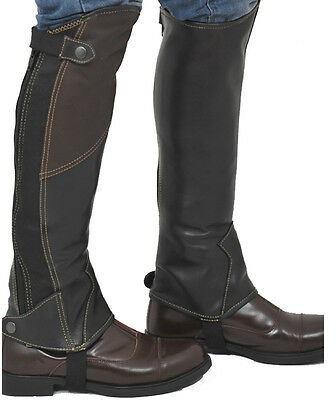 Riders Trend Two tone Leather Gaiter