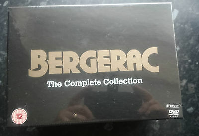 Bergerac, The Complete Collection. 27 DVD Box Set, New and sealed.