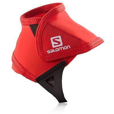 Salomon Low Mens Womens Red Black Ankle Protection Trail Outdoors Shoe Gaiter