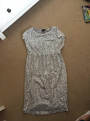 Next Maternity Size 10 Sequin Dress