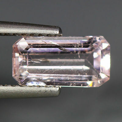 1.17 Cts_Simmering Ultra Nice Color_100 % Natural Peach Pink Morganite_Brazil