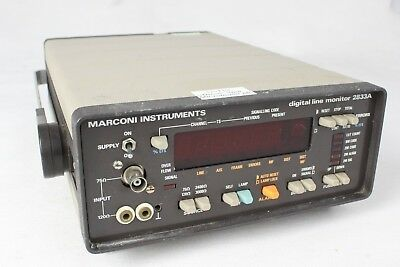 Marconi 2833A The Digital Line Monitor