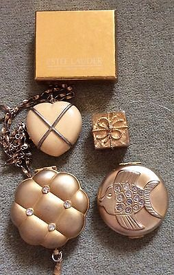 Estee Lauder  2 solids and two compacts
