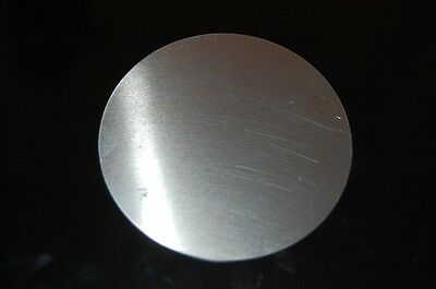 "Aluminum Disc 3.4""  Diameter .0179""  25 gauge thick (6 pieces)  FREE SHIPPING"