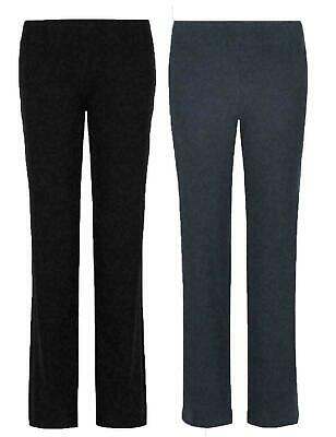 Ladies Marks & Spencer Flat Front Straight Leg Jogger Trousers Sport Active Gym