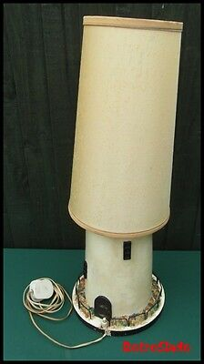 Vintage 1930/40's? Lighthouse Table Lamp, Working Order. Kitsch. Retro.