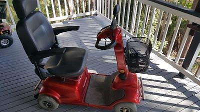 mobility scooter h500 4 wheel 120kg max swivel seat gd cond sunshine coast
