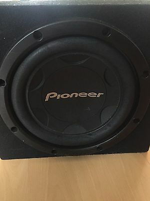 Pioneer subwoofer and Kenwood power amp