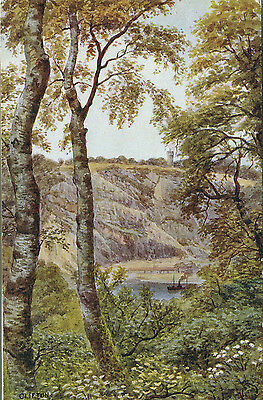 1938 Postcard Nightingale Valley CLIFTON Bristol by A R Quinton