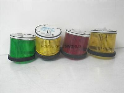TSW-F Sirena emergency light / 2x yellow / 1x red 1x green (Used and Tested)