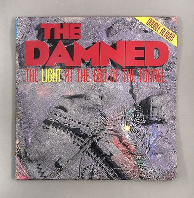 """The Damned - The Light At The End of The Tunnel - 12"""" Vinyl LP - MCSP 312"""
