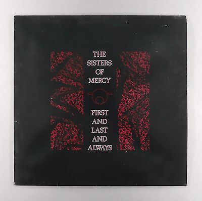 """Sisters of Mercy - First And Last And Always - ** EX ** - 12"""" Vinyl LP"""