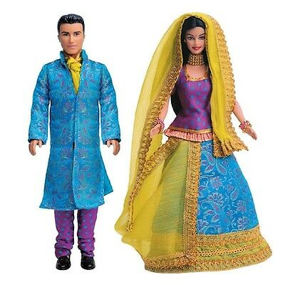 Barbie in India Barbie and Ken Gift Pack Collectable Barbie Ken Doll Pack