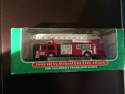 1999 Hess Miniature Fire Truck