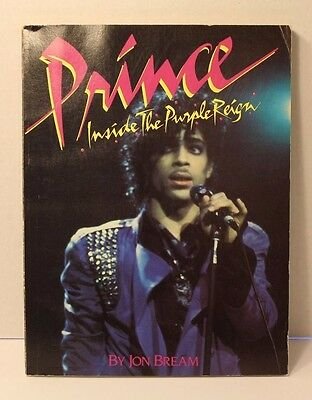 "PRINCE ""Inside The Purple Reign"" 1st Edition  By Jon Bream 1984"