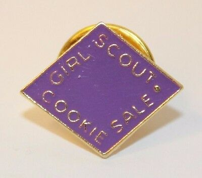 Girl Scout COOKIE PIN - 2011 - LILAC PURPLE NEW DISCONTINUED RARE Metal