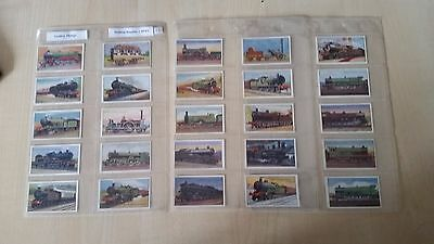 Godfrey Phillips Ltd.  -   Set  Of  25  Cards  -  Railway  Engines  -  1934