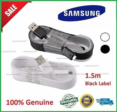 Genuine Original Samsung 1.5M Micro USB Fast Charge Cable Galaxy Note 4 5/S6/S7