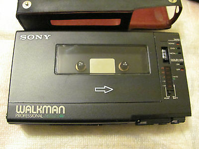 Vintage SONY WM-D6 Professional Walkman Stereo Cassette Recorder