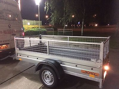 8x4 Fully galvanised car trailer