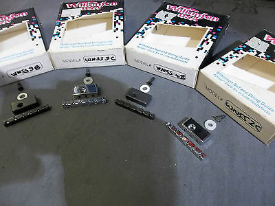 Wilkinson guitar nut & string guide WNSS3B for Fender style guitars. New.