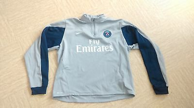 sweat PSG taille 13/15 ans