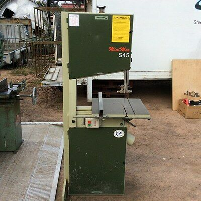 Scm Minimax S45 Bandsaw (3 Phase)