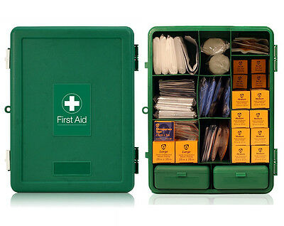 Workplace & Statutory First Aid Kits BS 8599-1 Compliant - Fast Check - S M or L