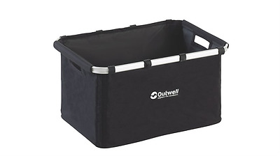 Outwell Folding Storage Basket Large (Black) RRP £11.99