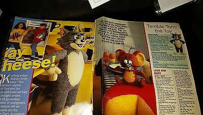 tom and jerry toy and sweater patterns