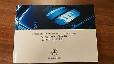 Mercedes Benz Genuine Service Book For All Models NEW
