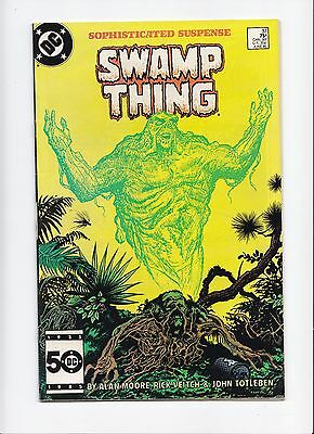 The Saga of Swamp Thing #37 1st Appearance of John Constantine