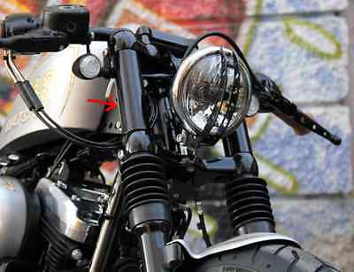 HARLEY DAVDSON sportster copri foderi forcella COVER STELI FORTY EIGHT 48 XLX hd