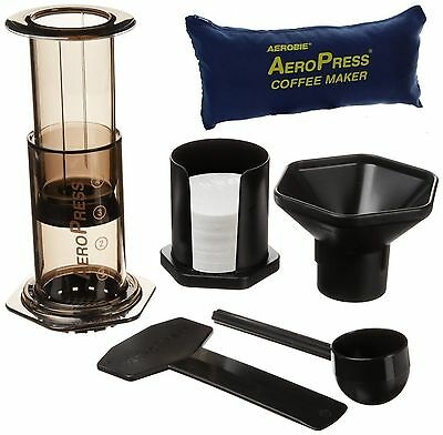 Aerobie Aeropress Hand Filter & Espresso Coffee Maker + Tote Bag