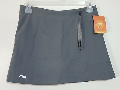 Outdoor Research Womens Expressa Trail Skort Size 6 Breathable UPF 50 Gray