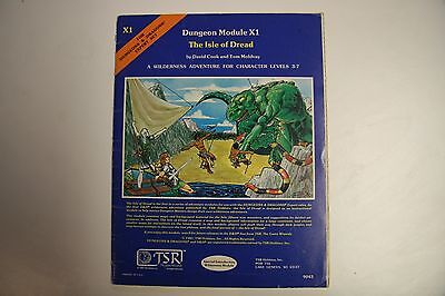 Dungeons and Dragons Module - X1 - The Isle Of The Dread