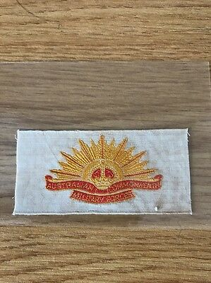 silk Anstie Regimental Badges Australian Commonwealth