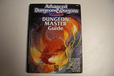 AD&D Advanced Dungeon Masters Guide 2100, 2nd edition, good condition