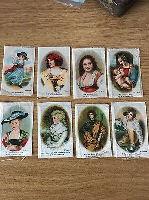 Silk Old Masters Set 6  X8