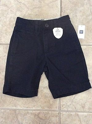 Gap Gapshield Navy Uniform Boys Shorts Size 5 New