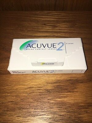 Johnson & Johnson Acuvue 2 Contacts Box Of 6 -1.75 Lenses (Longer Wearing)
