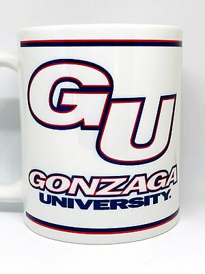 Custom Made GU Gonzaga Bulldogs Coffee Mug Personalized with your name