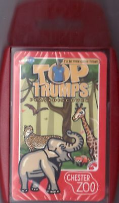 Chester Zoo Top Trumps Exclusive Factory Sealed Pack of Cards