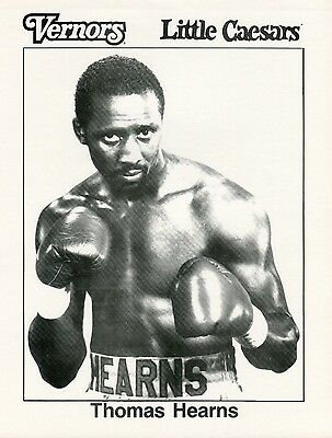 Thomas Hearns & Dennis Andries Flyer