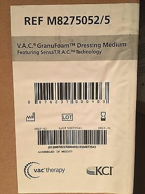 V.A.C. GranuFoam Dressing Medium for KCI Wound VAC Therapy Box Of 5