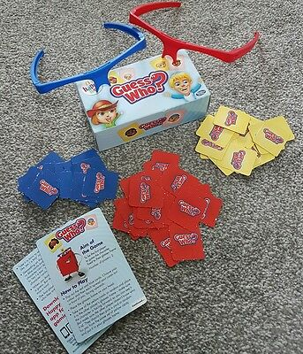McDonalds Happy Meal Guess Who ? Game with Glasses Frames
