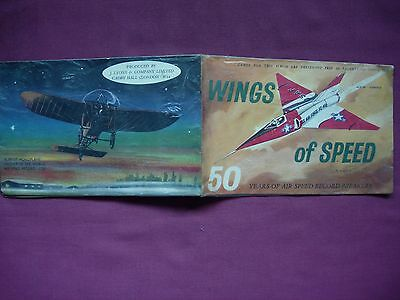 Wings of Speed Lyons Tea cards 1960 17/24 incomplete in album GD