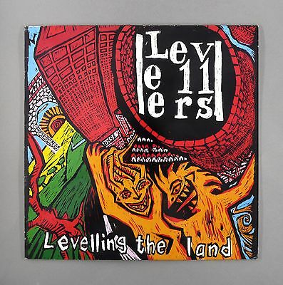 "Levellers - Leveling The Land - ** EX/EX ** - UK 12"" Vinyl LP - WOL 1022"