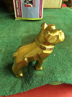 Vintage Gold Mack Bulldog Hood Ornament  Reproduction Factory Second